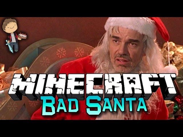 Minecraft: Bad Santa Challenge Adventure!