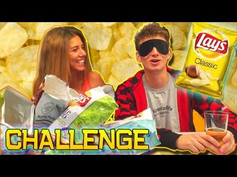 CHIP CHALLENGE (BF vs GF Challenges!) 10 FLAVORS OF CHIPS!
