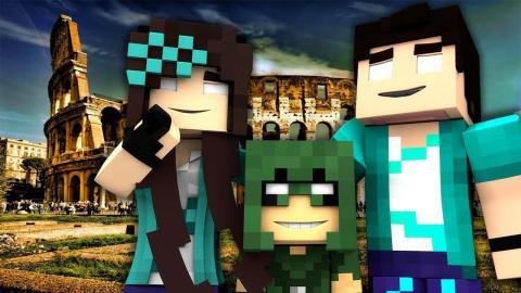 Minecraft: VIDA REAL - #103 FERIAS EM ROMA - Comes Alive Mod