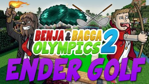 Minecraft Benja & Bacca Olympics S2 - ENDER GOLF - DEATH CUP CHALLENGE (Challenge #5)