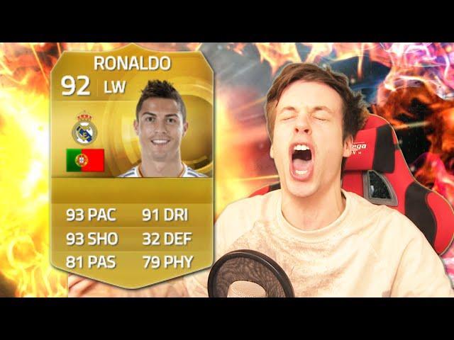 RONALDO PACK OPENING!!! AGAIN OMFG!!! - FIFA 15 Ultimate Team Pack Opening