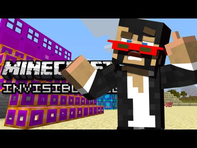 Minecraft: INVISIBLE BLOCKS! - Mod Showcase