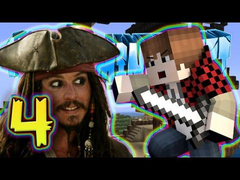 How To Minecraft SMP: BOSS PIRATE BATTLE with Bajan Canadian & JeromeASF! (HTM SMP #4)