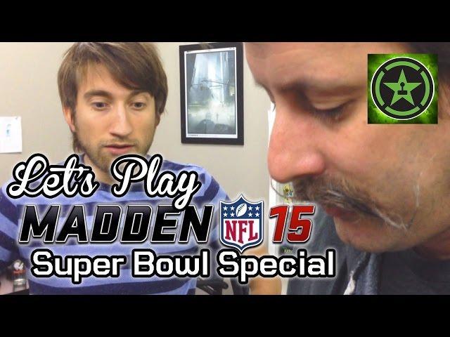 Let's Play - Madden NFL 15: Super Bowl Special