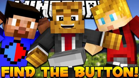 "Minecraft NO ONE CAN ""FIND THE BUTTON"" RAGE Map w/ Vikkstar123, Lachlan & JeromeASF"