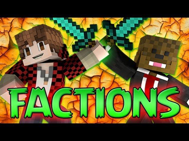 Minecraft FACTIONS : 2 vs 2 Epic Faction Challenge Games! [7] Bajan Canadian & JeromeASF