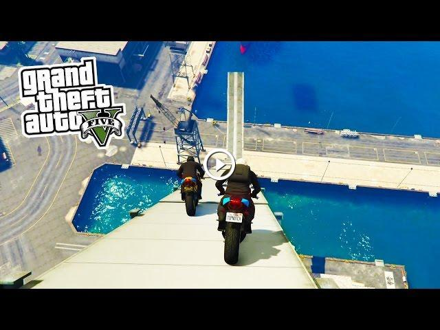 how to jump on bike in gta 5 ps4