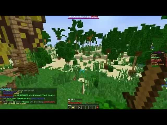 I AM A WITHER in Minecraft (Hunger Games)
