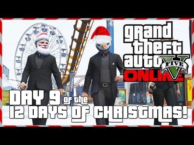 GTA 5 Online - Santa Wingsuit! (Day 9 of 12) (GTA V)
