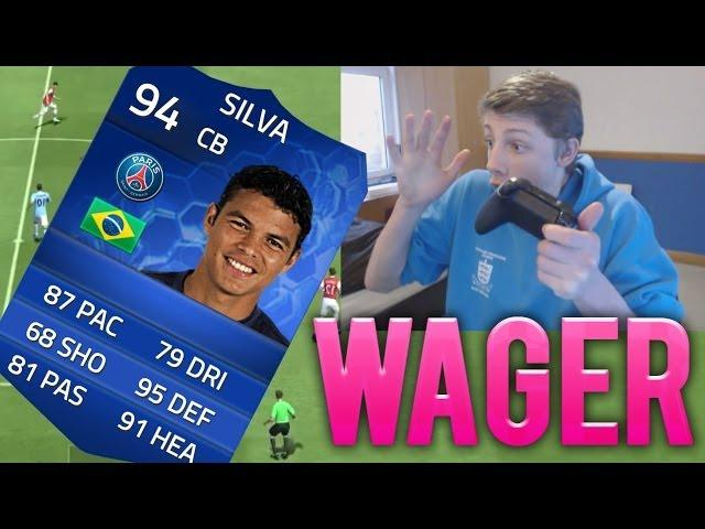 F**K THIS!! - TOTY THIAGO SILVA WAGER - FIFA 14 Ultimate Team Team Of The Year