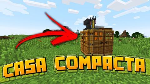 Minecraft : A CASA MAIS COMPACTA DO MINECRAFT !!