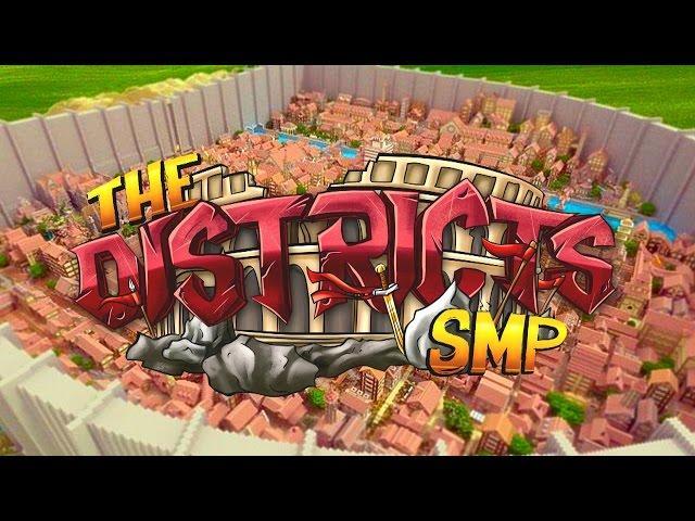 "Minecraft : The Districts SMP ""TEAM ILLUMINATI HOUSE"" #3 CHALLENGE"