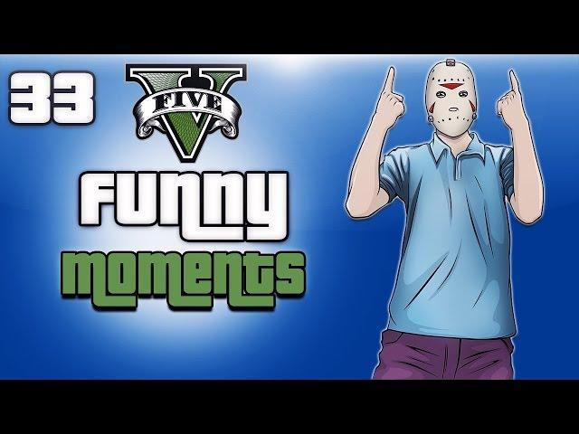 GTA 5 Online Funny Moments Ep. 33 (Gate Launch Glitch, Vanoss Troll, Ragdoll Glitch)