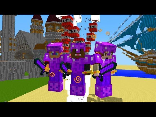 Minecraft TORNADO OBSIDIAN ARMOR MOD PVP + DEATH CUP Challenge