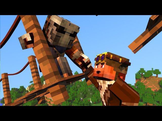 Minecraft - QUEDA PARA O ALTO - #10 A TRAGÉDIA!!
