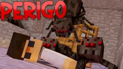 Minecraft: SUBMERSOS 2 - #09 ESTAMOS EM PERIGO!!
