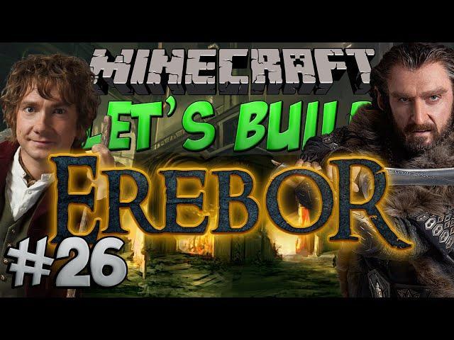Minecraft Let's Build - Erebor - #26 The Treasure Room