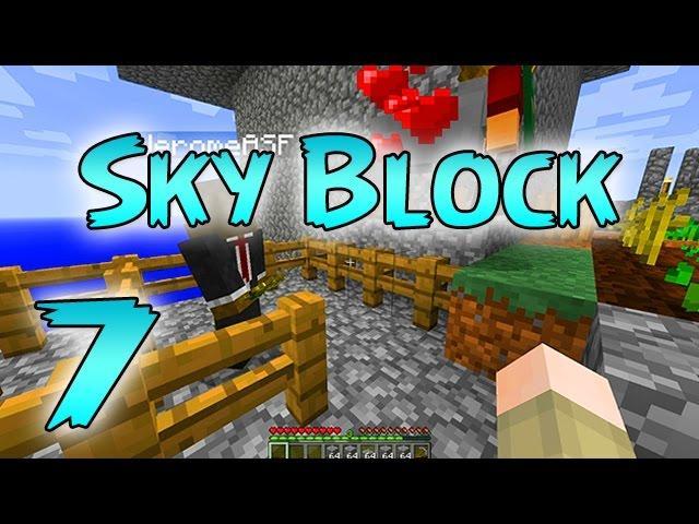 Minecraft: SkyBlock Survival Episode 7 - Sky Island Expansion!