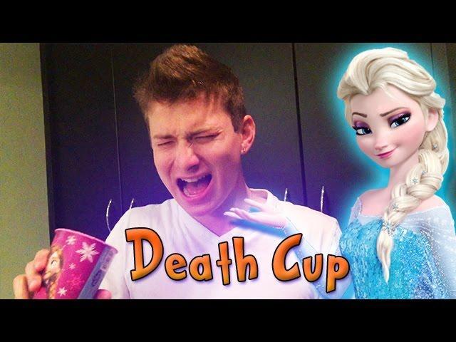 DEATH CUP CHALLENGE ft. Elsa's Frozen Cup