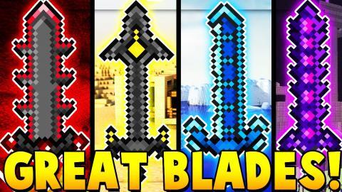 OP GREATBLADES MOD CHALLENGE | Minecraft - Mod Battle