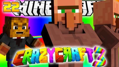 Minecraft CRAZY CRAFT 3.0 - MASTER THIEVES #22 w/ Nooch