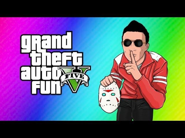GTA 5 Online Funny Moments! (Switching Bodies with H2O Delirious!)