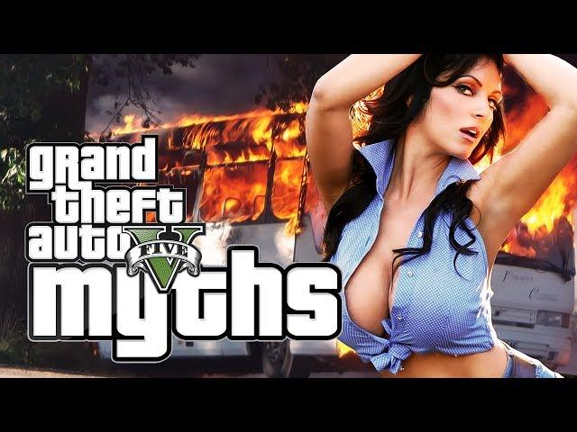 GTA 5 Myths (Bus Hookers, Exploding Audi R8, RPG fun and More!) [GTA V]