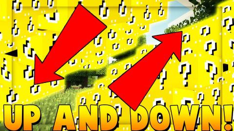 UP AND DOWN Lucky Blocks Modded Minigame