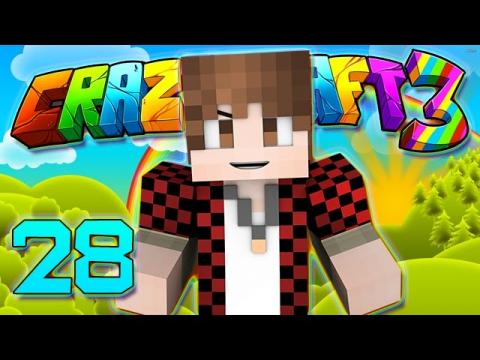 Minecraft Crazy Craft 3.0: DUPLICATOR LOG HARVESTING & EXPERIENCE TREE  #28 (Modded Roleplay)
