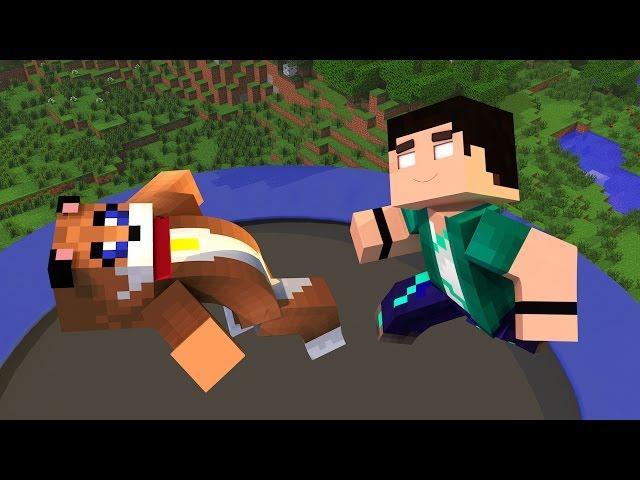 Minecraft - O TRAMPOLIM GIGANTE!! [66] Meu Amável Mundo!