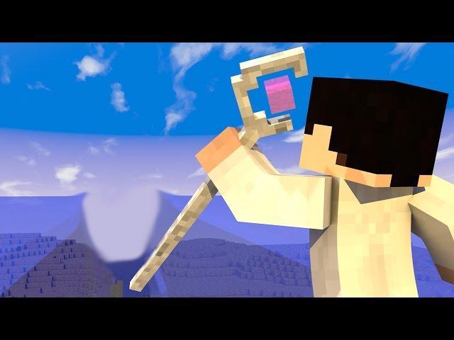 Minecraft Mod - MOISÉS NO MINECRAFT - ABRINDO O MAR AO MEIO!