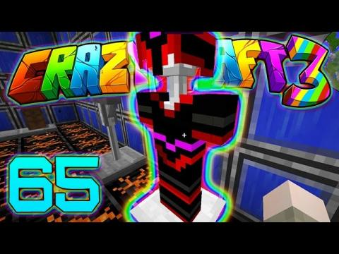 Minecraft Crazy Craft 3.0: JEROME'S GIFT! #65 (Modded Roleplay) (Queen Scale Armor Mod)