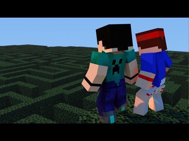 Minecraft - DESAFIOS - DIVERSITY 2 - #3 LABIRINTO COM VILHENA!