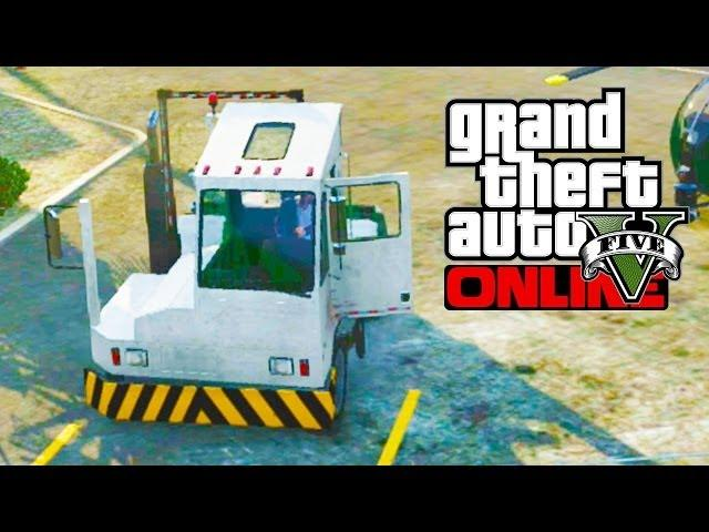 "GTA 5 Secret Cars - ""Docktug"" (Bulletproof Truck) (GTA V)"