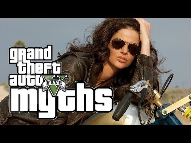 GTA 5 Myths (SEX on Bikes, Free Falling, Explosive Sh*t, Trains, and More!)