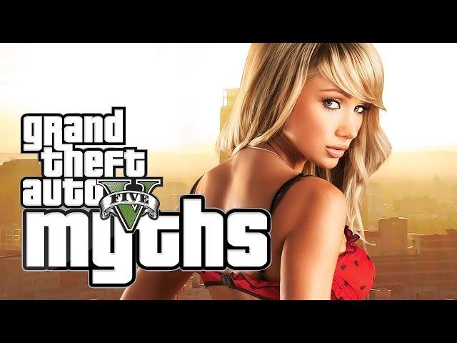 GTA 5 Myths (HOT Prostitutes... ON FIRE, Evading Police, and More!)