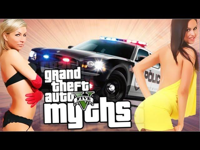 GTA 5 Myths (Busting Prostitutes, Human Roadkill, and More!) [GTA V Mythbusters]