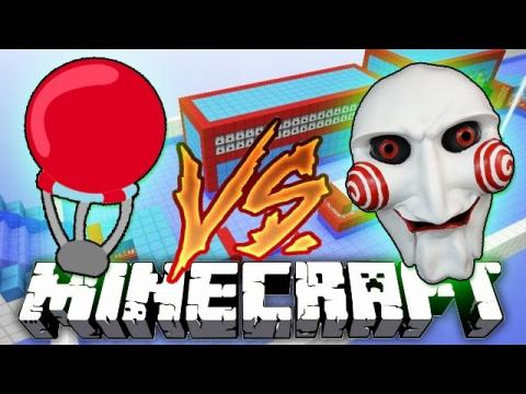 Minecraft: Total Wipeout vs SAW Challenge Parkour Mini-Game!