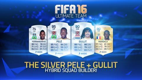 THE SILVER PELÉ & GULLIT! w/ SQUAD BUILDER! | FIFA 16 ULTIMATE TEAM