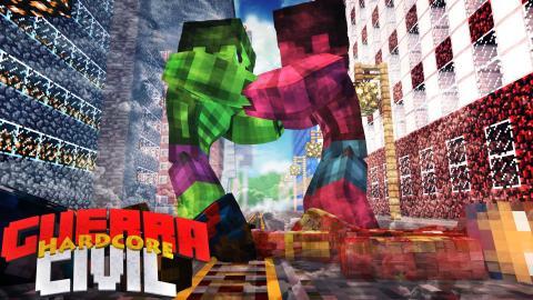 MINECRAFT GUERRA CIVIL : MUITAS MORTES!! #3