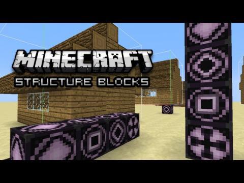 Minecraft: New Structure Blocks! (1.10 Snapshot 16w20)