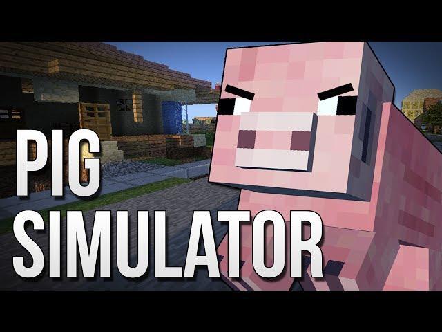 PIG SIMULATOR : Goat Simulator in Minecraft!