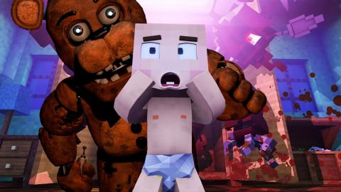Minecraft: WHO'S YOUR DADDY?! - O FREDDY MATOU O BEBE!! (FIVE NIGHTS AT FREEDY'S )
