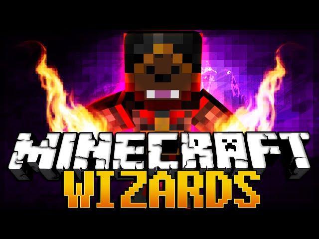 Minecraft Wizards + Spells + Magic (Harry Potter Wands)