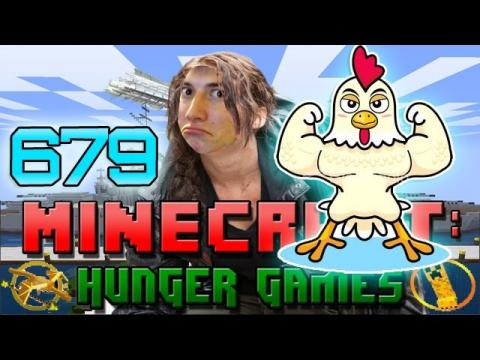 """SUPER STRONG EL POLLO MAN!"" Minecraft: Hunger Games w/Bajan Canadian! Game 679"