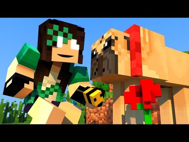 Minecraft - VIDA REAL - #20 CACHORRINHO FOFINHO! - Comes Alive Mod