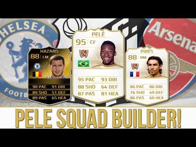 BEAST PELE SQUAD BUILDER!! Ft. TIF HAZARD & PIRES!! | FIFA 14 ULTIMATE TEAM