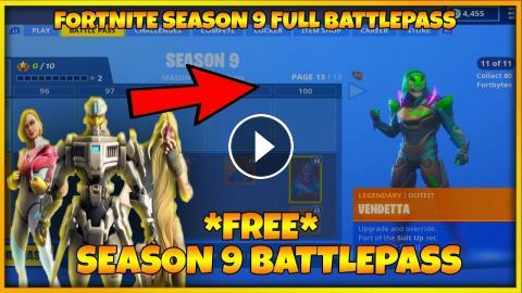 Fortnite Season 9 Full Battle Pass Season 9 Skins Fortnite Season