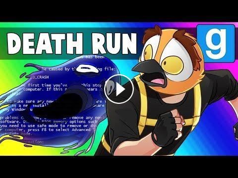 Gmod Death Run Funny Moments - The Halloween Map that Crashes!