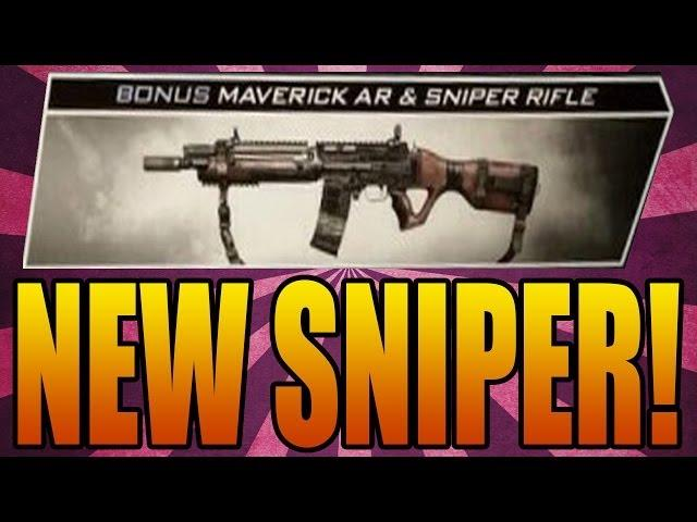 Call of Duty: Ghosts NEW SNIPER! Map Pack 1 Maps & Extinction Episode (COD Ghost Onslaught DLC New)